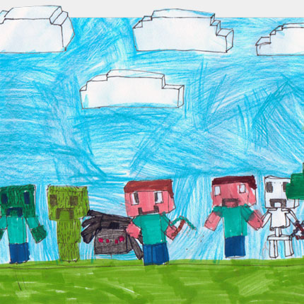 Minecraft Characters